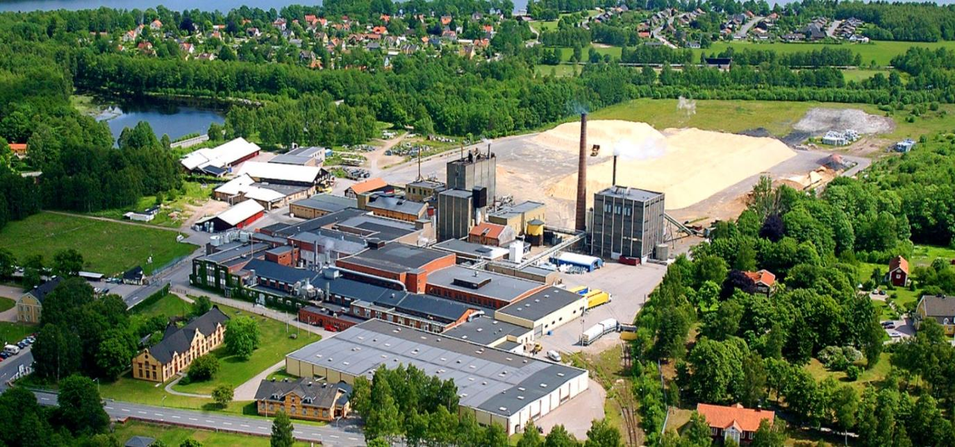 lessebo paper invests 50 million sek in pulp mill